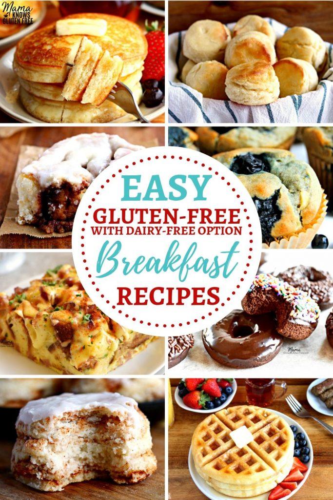 easy gluten-free breakfast recipes Pinterest pin 1-A