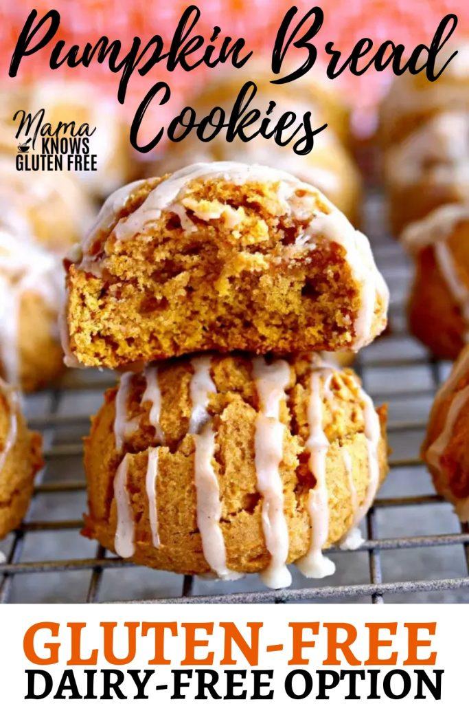 gluten-free pumpkin cookies Pinterst pin b