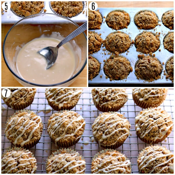 pumpkin muffins recipe steps 5-7