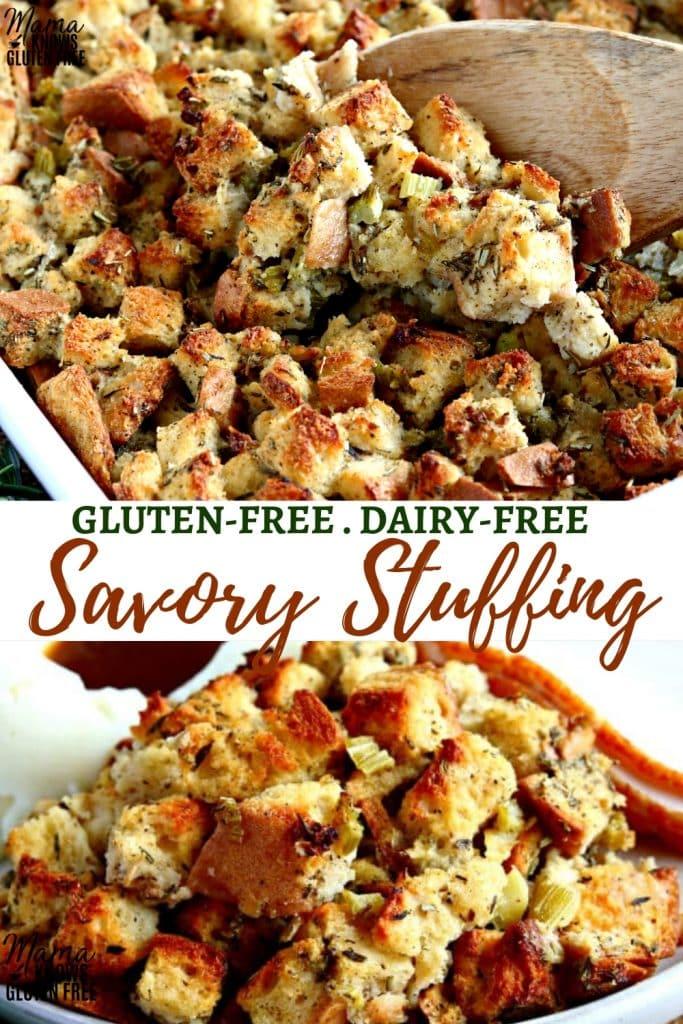 gluten-free stuffing Pinterest pin 1A
