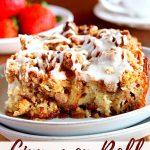 gluten-free french toast casserole Pinterest pin