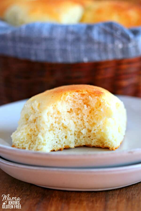 Gluten-Free Dinner Rolls from Mama Knows Gluten-Free