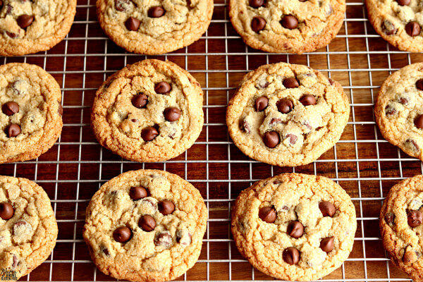 Gluten-Free Chocolate Chip Cookies {Dairy-Free & Vegan