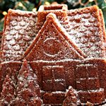 gluten-free gingerbread cake Pinterest pin