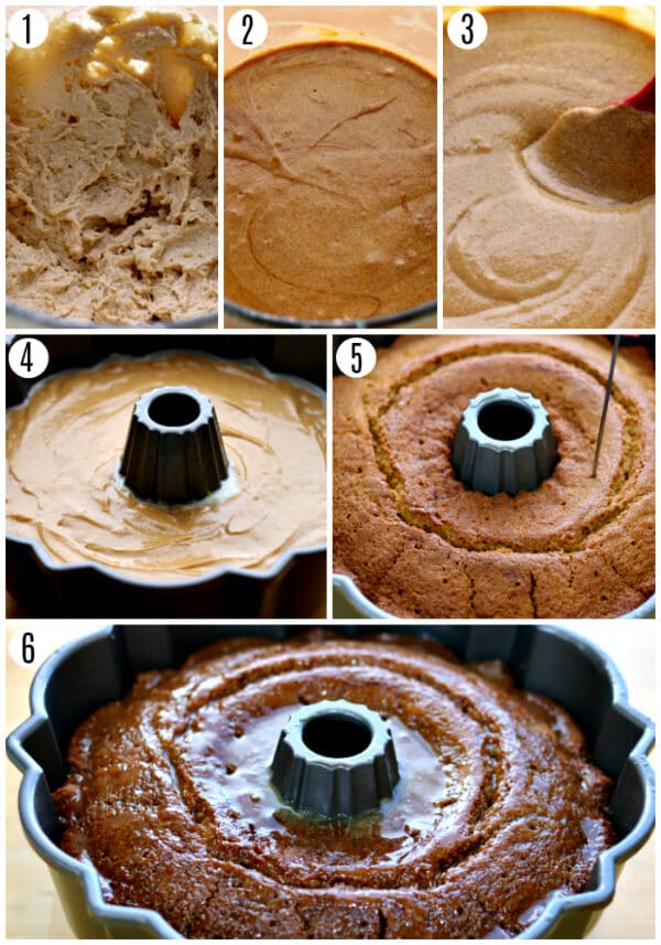 gluten-free gingerbread cake recipe steps 1-6