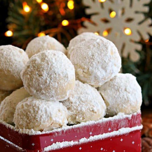 Gluten Free Snowball Cookies Dairy Free Option Mama Knows Gluten Free