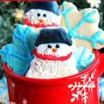 gluten-free cut out sugar cookies Pinterest pin