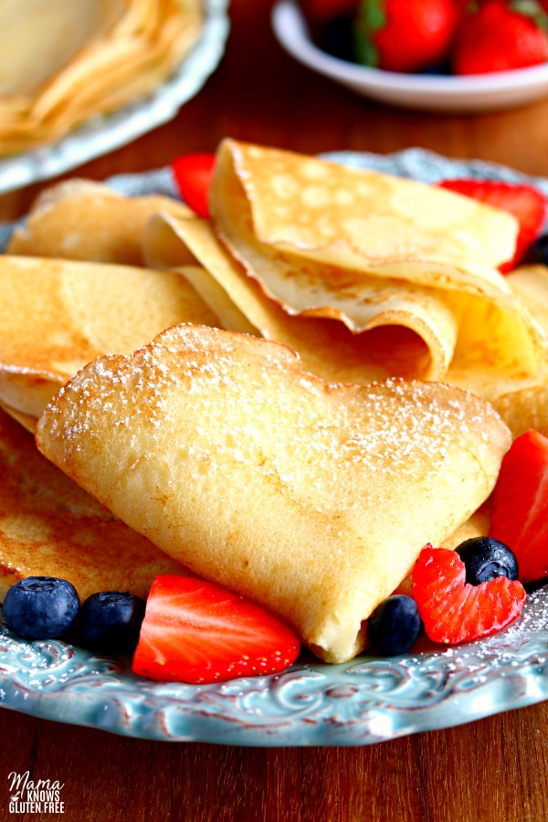 best gluten free flour for crepes