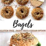 gluten-free bagels Pinterest pin 1a
