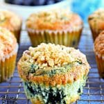 gluten-free blueberry muffins Pinterest pin