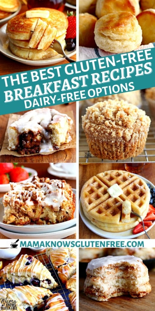 gluten-free breakfast recipes Pinterest pin 1n