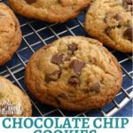 gluten-free chocolate chip cookies Pinterest pin 1A
