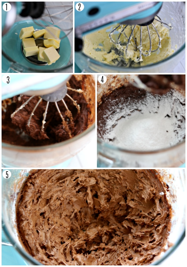 gluten-free chocolate buttercream recipe steps