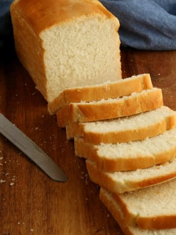 loaf of gluten-free bread sliced
