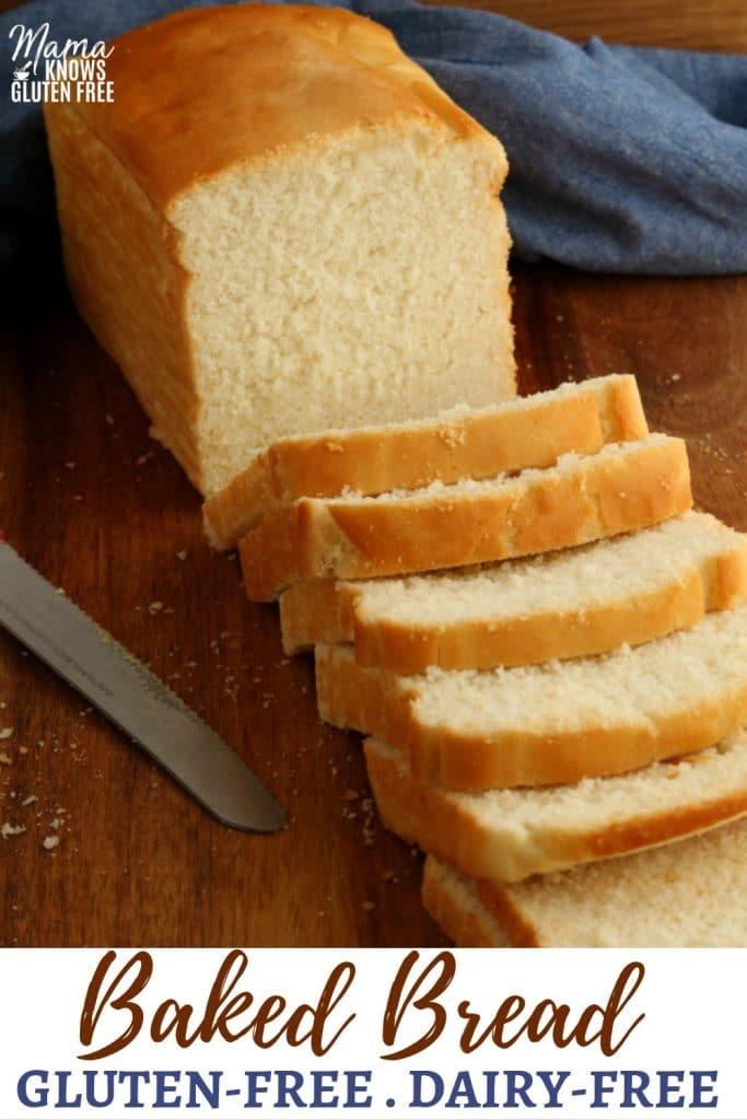 gluten-free bread Pinterest pin