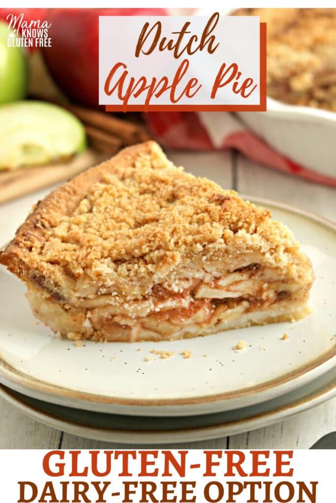 gluten-free apple pie Pinterest pin 2