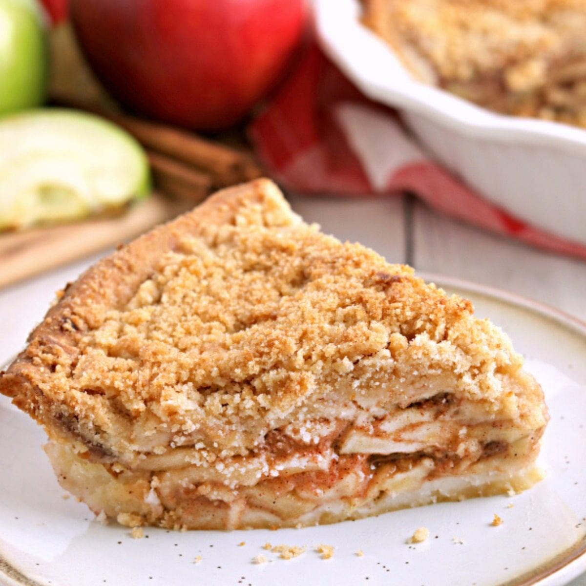 Gluten Free Dutch Apple Pie Dairy Free Option Mama Knows Gluten Free