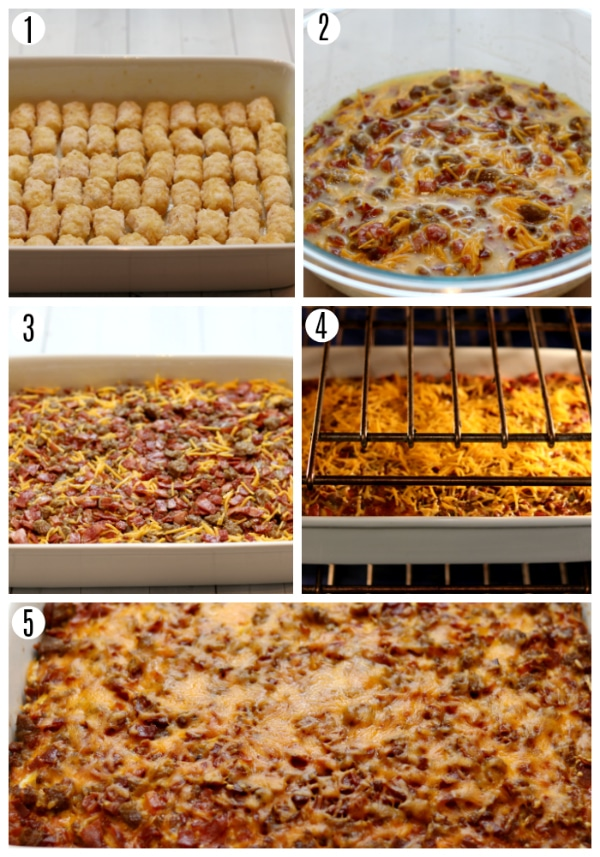 gluten-free breakfast casserole recipe steps 1-5