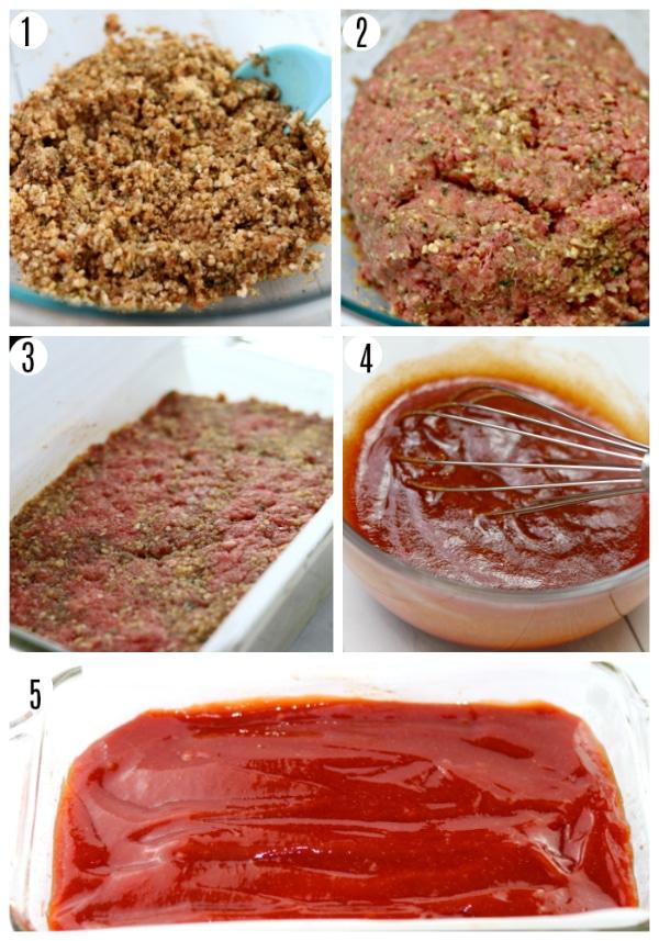 gluten-free meatloaf recipe steps 1-5