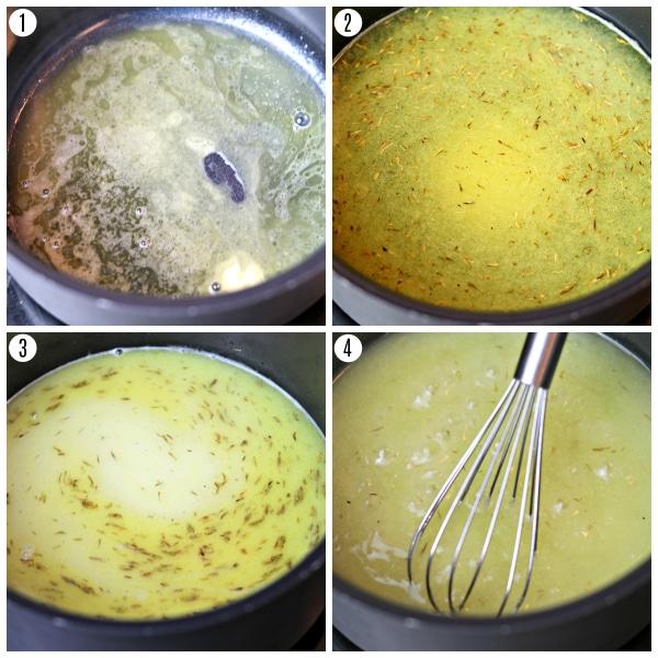 gluten-free gravy recipe recipe steps photo collage