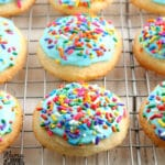 gluten-free sugar cookies Pinterest pin