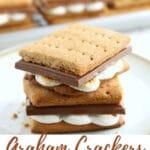 gluten-free graham cracker recipe Pinterst pin 1