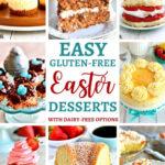 gluten-free Easter dessert recipes Pinterest pin 2A