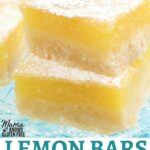 gluten-free lemon bars Pinterest pin 1A