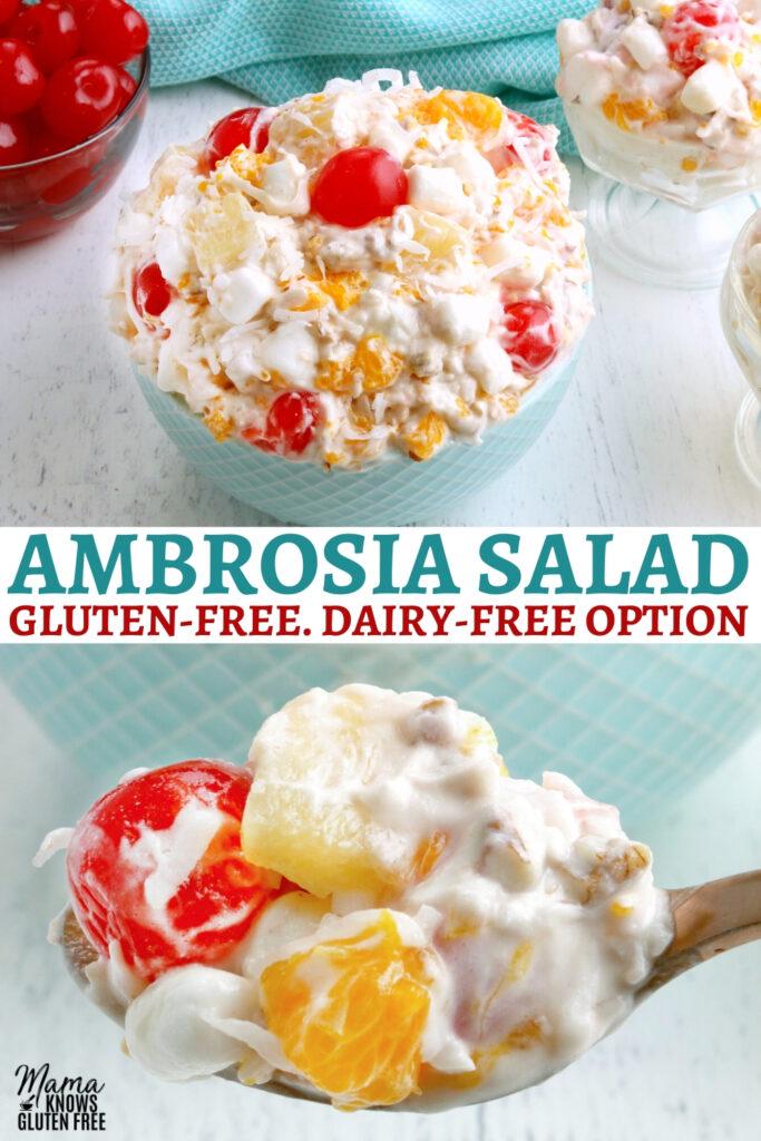 Ambrosia Salad Pinterest pin 2