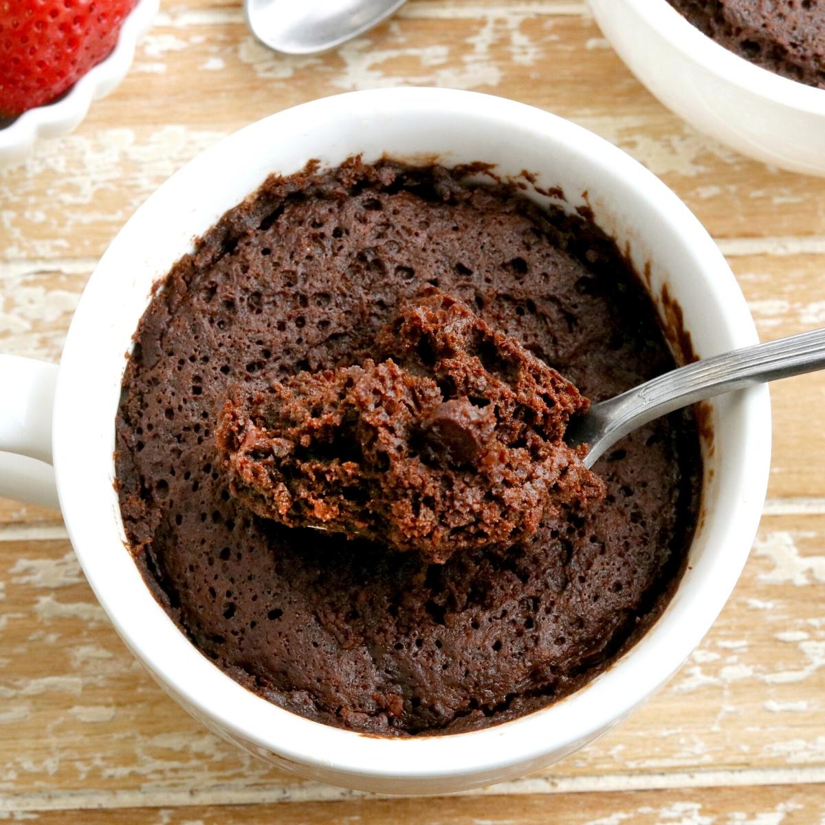 Gluten Free Chocolate Mug Cake Dairy Free Vegan Mama Knows Gluten Free