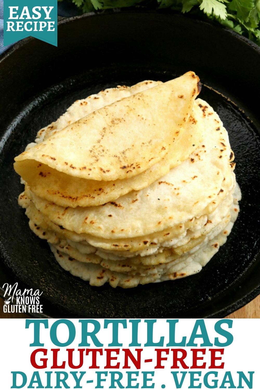 gluten-free tortillas Pinterest pin 1