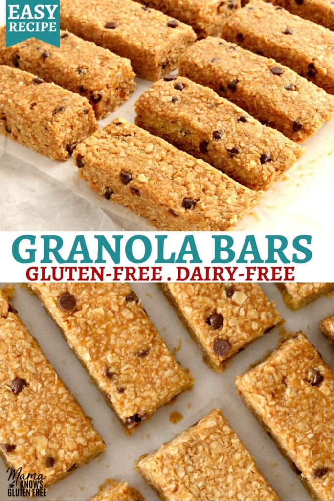 gluten-free granola bars Pinterest pin 2