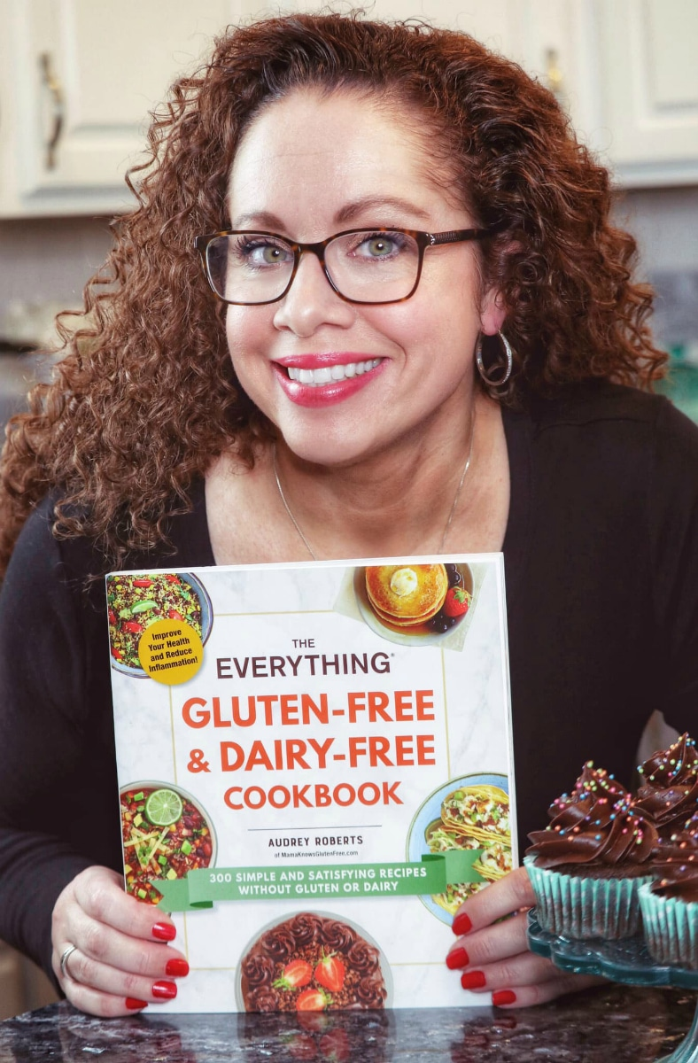 Audrey Roberts with The Everything Gluten-Free & Dairy-Free Cookbook