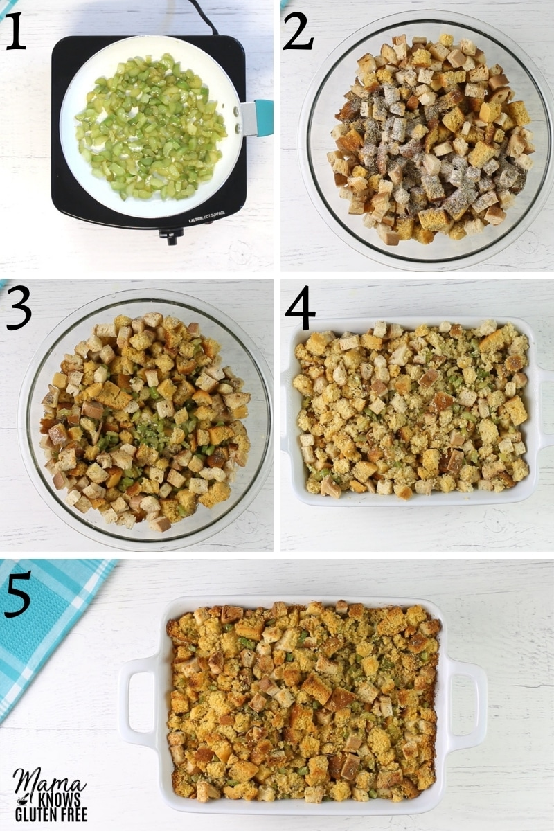 gluten-free cornbread stuffing recipe steps photo college