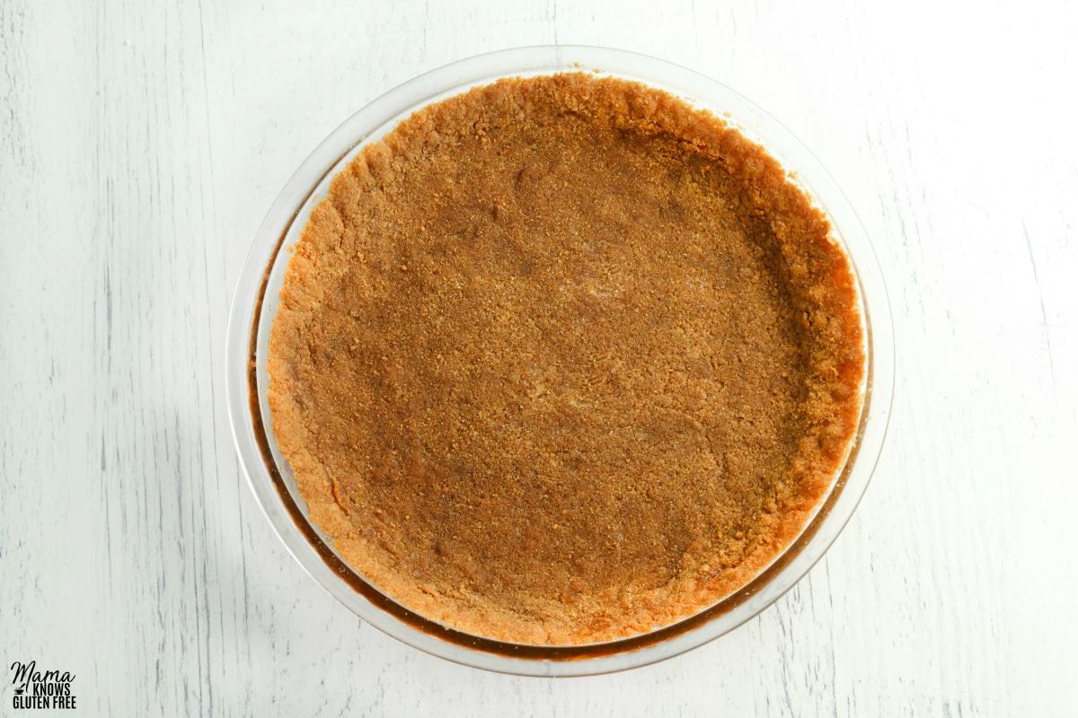 gluten-free graham cracker pie crust