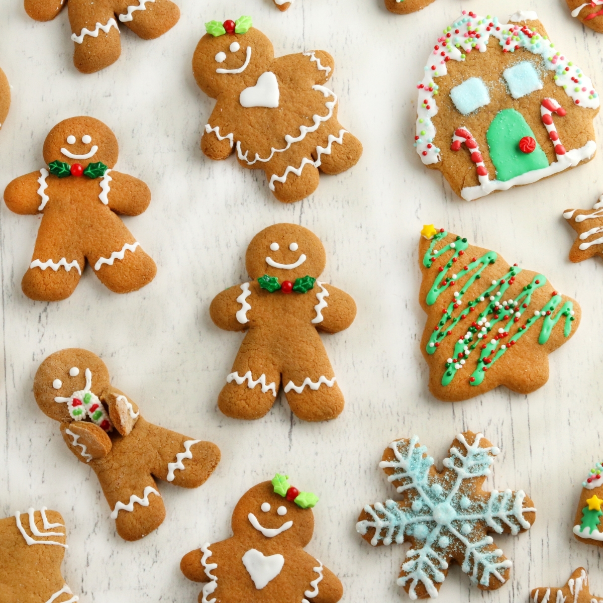 Gluten Free Gingerbread Cookies Dairy Free Option Mama Knows Gluten Free