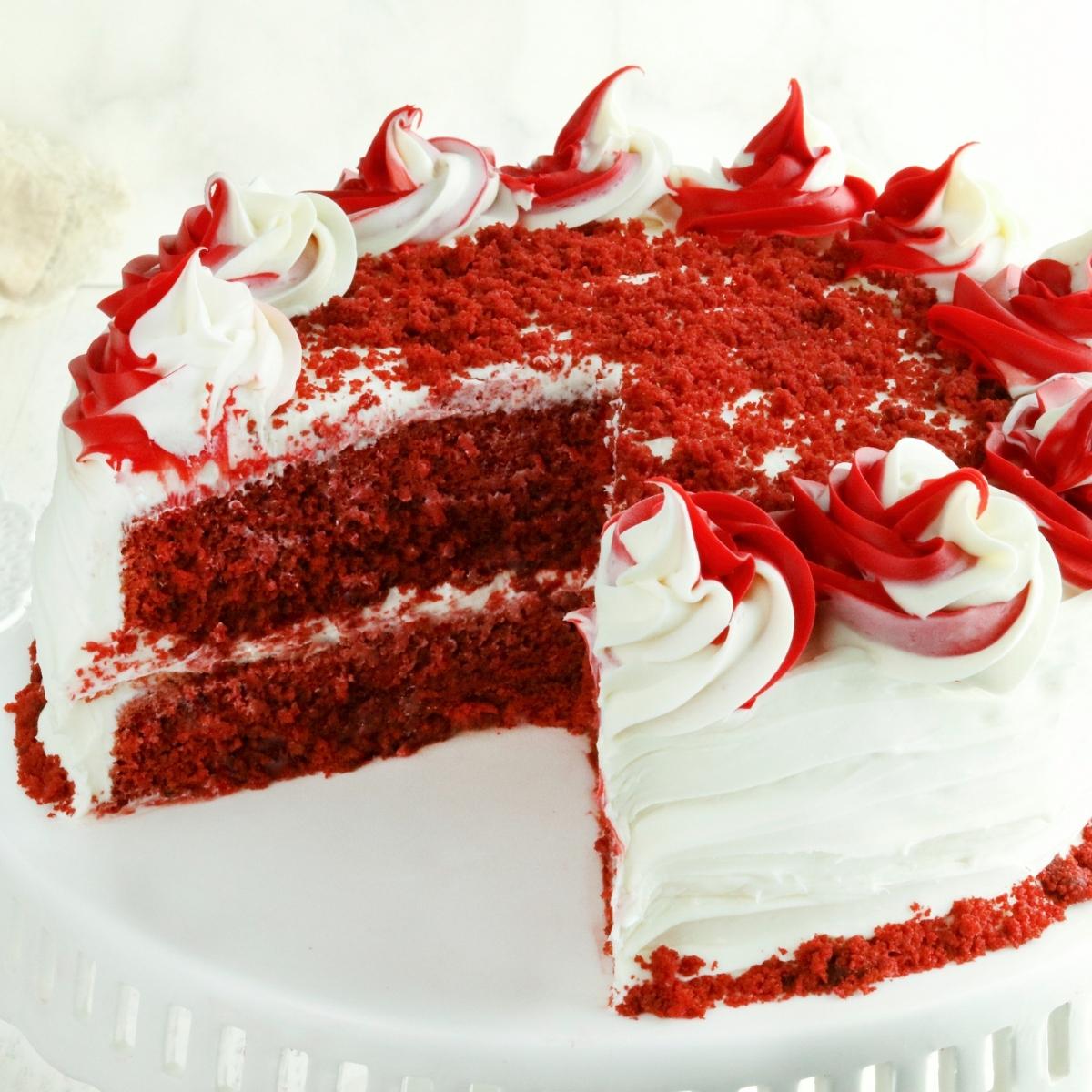 Gluten Free Red Velvet Cake Dairy Free Option Mama Knows Gluten Free
