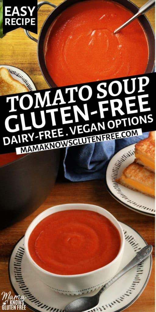 gluten-free tomato soup Pinterest pin 1n
