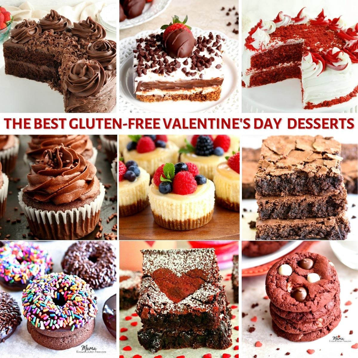 Gluten-Free Valentine's Day Desserts {Dairy-Free Option}